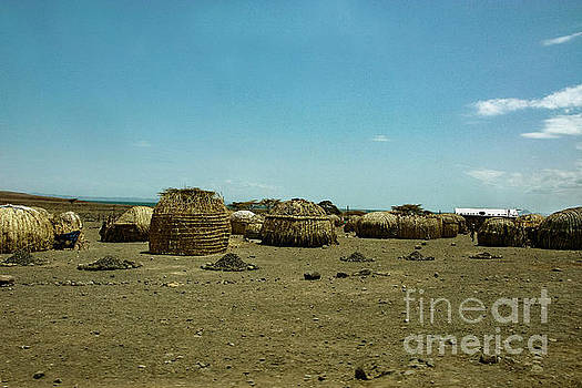 A Turkana Settlement by Morris Keyonzo