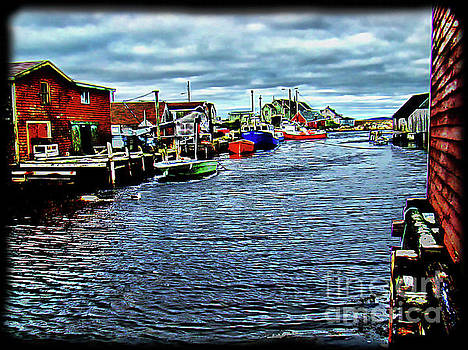 A View At Peggy's Cove, NS, Canada by Al Bourassa
