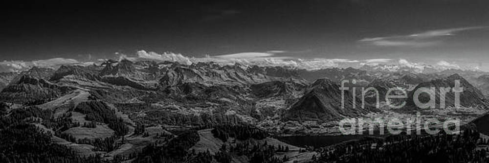 A View from Rigi by Erik Brede