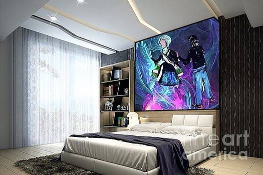 A View Of Art As Interior Design by Debra Lynch