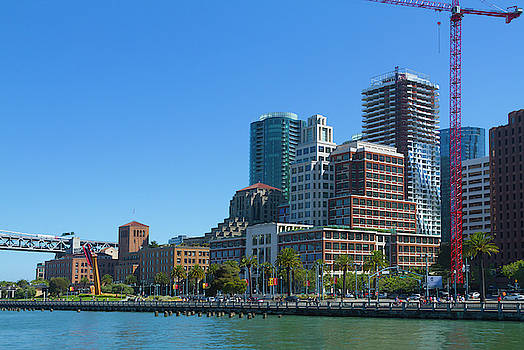 A View of the San Francisco Waterfront by Bonnie Follett