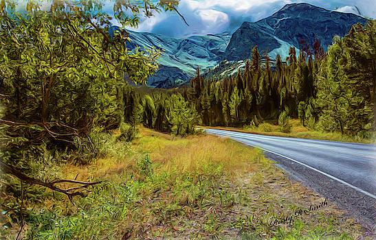 A western Montana mountain Landscape by Rusty R Smith