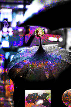 A Wet Night In New York City Number 12 by Ben Stein