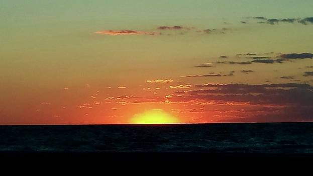A Yellow and Orange Sunset by Susan Wyman