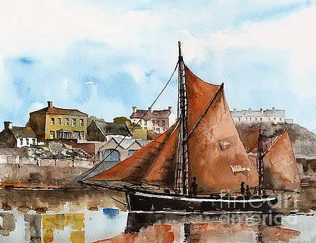 Val Byrne - A Zulu off Inismore, Aran, Galway.