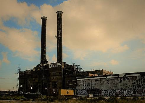 Abandoned Electric Power In New Orleans by Michael Hoard