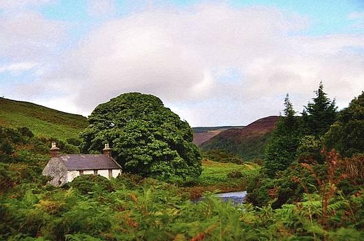 Jenny Rainbow - Abandoned House. Wicklow Hills