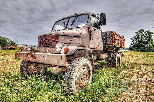 Abandoned Old Rusty Truck Praga V3S by Michal Boubin