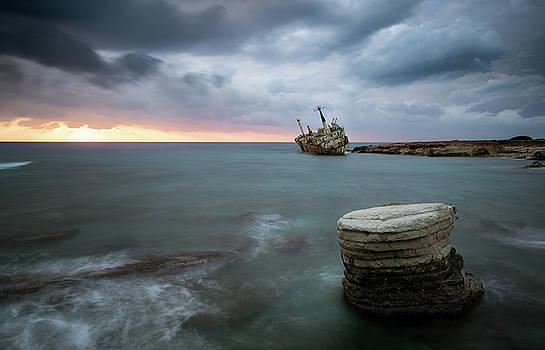 Abandoned Ship EDRO III Cyprus by Michalakis Ppalis