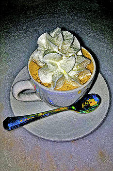 about LOVE. Coffee with cream by Andy Za