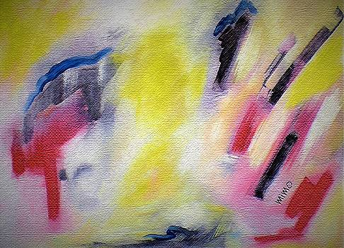 Abstract 1 by Mimo Krouzian