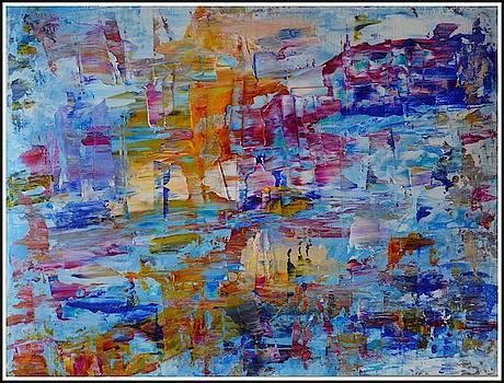 Abstract art 4-2019 by Sonali Gangane