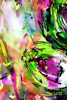 Ginette Callaway - Abstract Arti 3 by Ginette