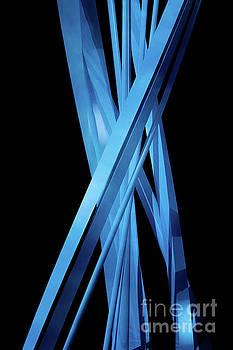 Benjamin Harte - Abstract Blue Spiral 2