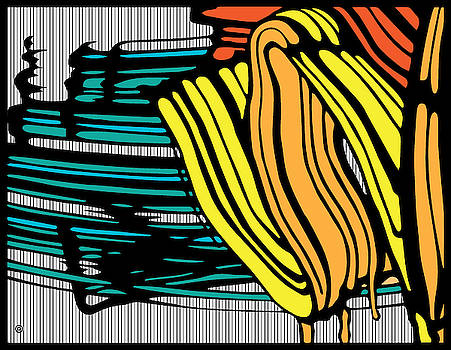 Abstract Brush Strokes by Gary Grayson