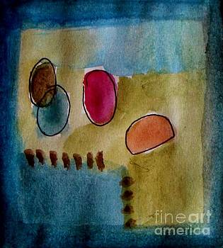 Abstract - circles  by Vesna Antic