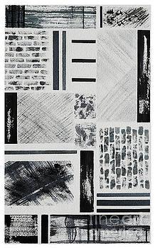 Abstract Collage by Karen Fleschler