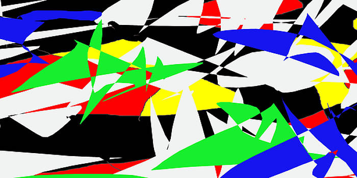 abstract composition K46 by Lee Eggstein