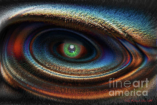 Abstract Eye by Lutz Roland Lehn