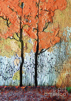 Sharon Williams Eng - Abstract Fall Trees 300