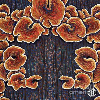 Amy E Fraser - Abstract Fungus 1