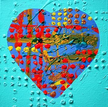 Abstract Heart III by John  Nolan