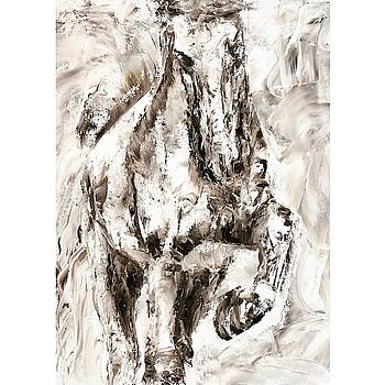 Abstract Horse by Jennifer Morrison Godshalk