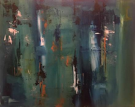 Abstract III by Crystal Stagg