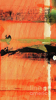 Sharon Williams Eng - Abstract in Orange 300