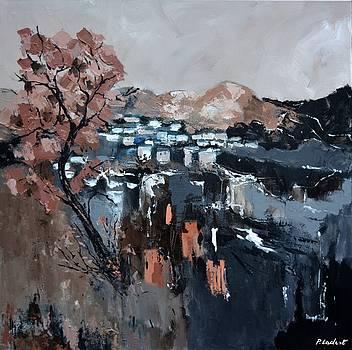 Abstract landscape by Pol Ledent