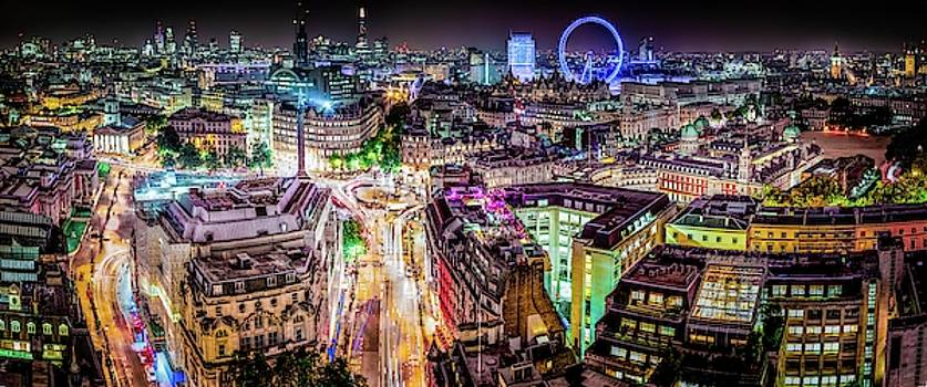 Abstract London by Stewart Marsden