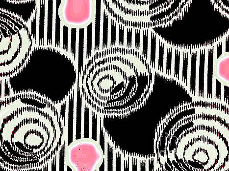 Abstract pattern 1-colour 19 by Katerina Stamatelos