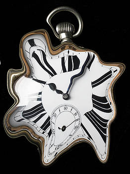 Abstract Pocket Watch by Garry Gay