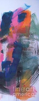 Abstract Poppy #1 by Vesna Antic