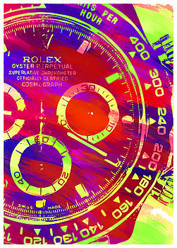 Abstract Rolex Digital Paint 10 by Ricky Barnard