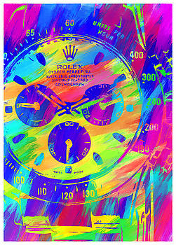 Abstract Rolex Digital Paint 2 by Ricky Barnard