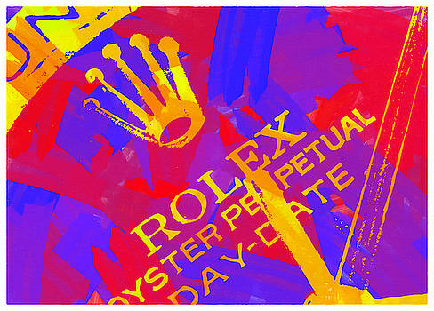 Abstract Rolex Digital Paint 6 by Ricky Barnard