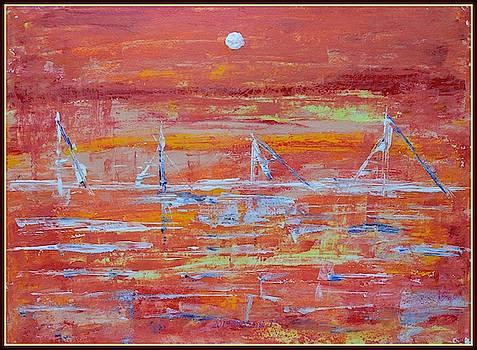 Abstract sails by Sonali Gangane