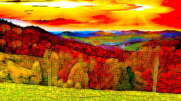 Abstract Scenic 2 by Bruce Iorio