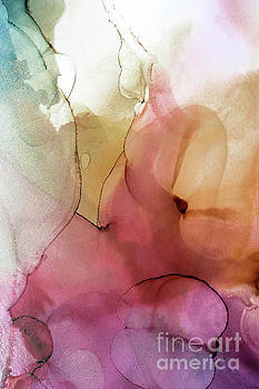 Abstract Summer Nectar by PrintsProject