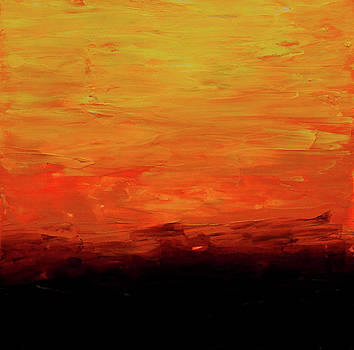 Abstract Sunset by Morgan Kool