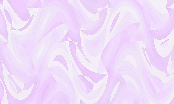 Abstract Waves Painting 007536 by P Shape