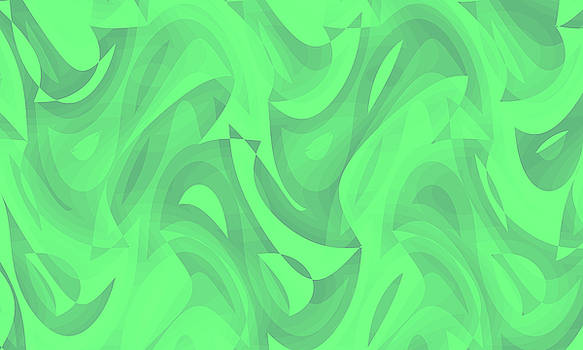 Abstract Waves Painting 007594 by P Shape