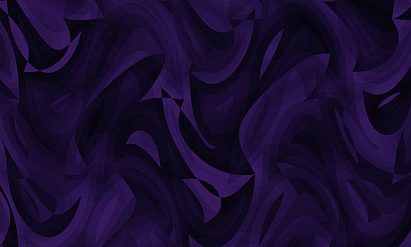Abstract Waves Painting 007603 by P Shape