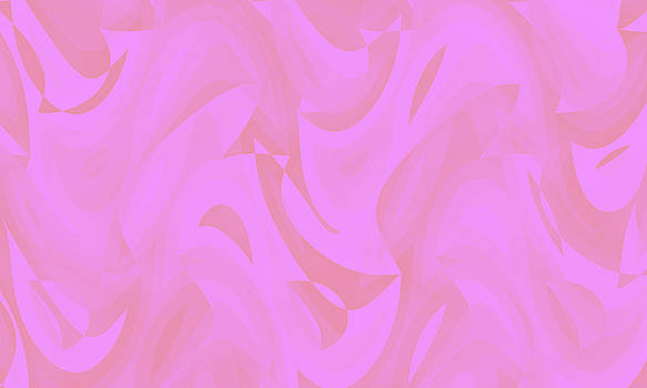 Abstract Waves Painting 007656 by P Shape