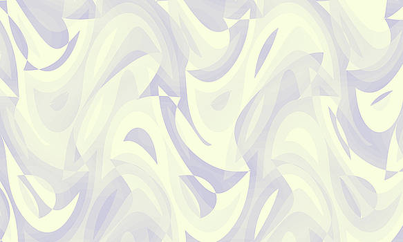Abstract Waves Painting 007750 by P Shape