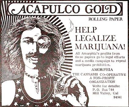 Acapulco Gold Ad by John Lyes