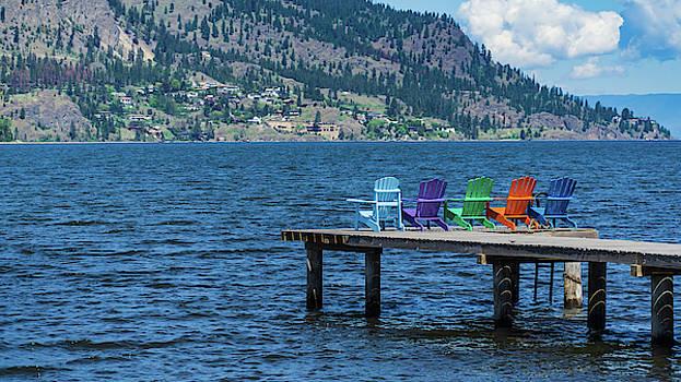 Adirondack Dock by Dave Matchett