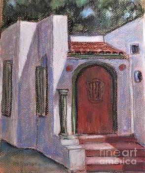 Adobe at Rancho Camulos by Laurie Morgan