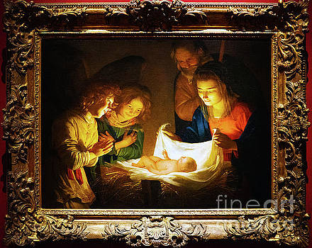 Wayne Moran - Adoration of the Christ Child Gerard Van Honthorst